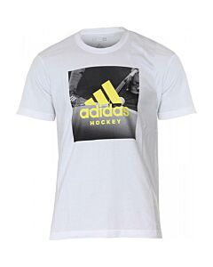 ADIDAS - HO Graphic T. W. - wit combi