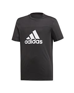 ADIDAS - equip tee - Zwart-Wit