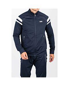 SJENG SPORTS - men fullzip vest - Blauw-Multicolour