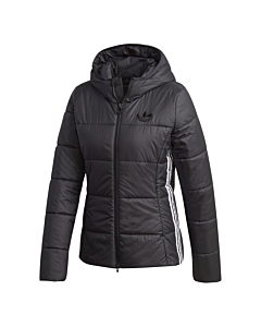 ADIDAS - slim jacket - Zwart