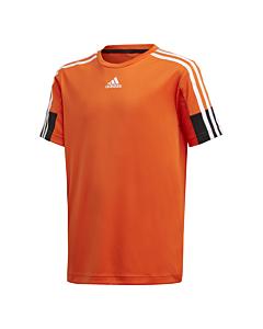 ADIDAS - b a.r. 3s tee - Oranje-Multicolour