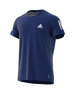 ADIDAS - own the run tee - Blauw
