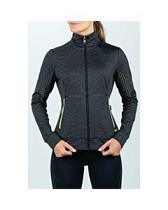 SJENG SPORTS - lady training jacket - Black/Black/White