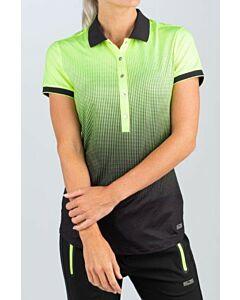 SJENG SPORTS - lady sleeveless polo - Geel