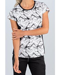 SJENG SPORTS - lady t-shirt - Wit-Multicolour