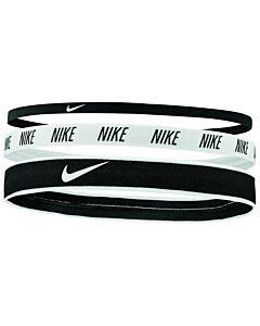 NIKE ACCESSOIRES - nike mixed width headbands 3pk - Zwart-Multicolour