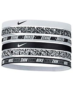 NIKE ACCESSOIRES - nike headbands 6pk printed - Wit