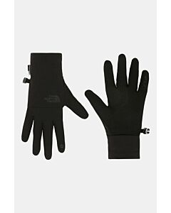 THE NORTH FACE - w etip recycled tech glove - Zwart