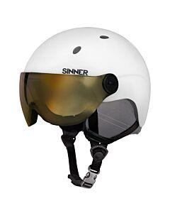 SINNER - titan visor - Wit-Multicolour