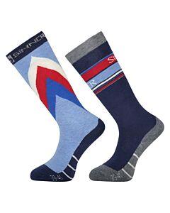 Sinner limited retro socks double pack