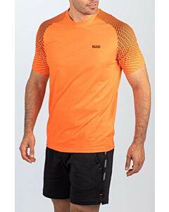 SJENG SPORTS - men training t-shirt - Oranje-Multicolour