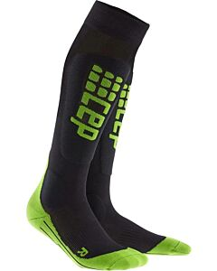CEP - CEP ski ultralight socks men - Zwart-Groen