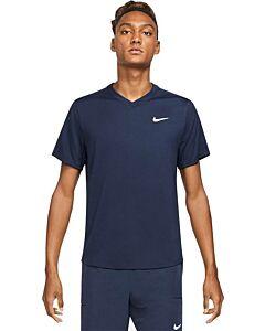 NIKE - nikecourt dri-fit victory men's ten - Blauw-Multicolour