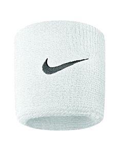 Nike Accessoires SWOOSH WRISTBAND WHITE-BLACK
