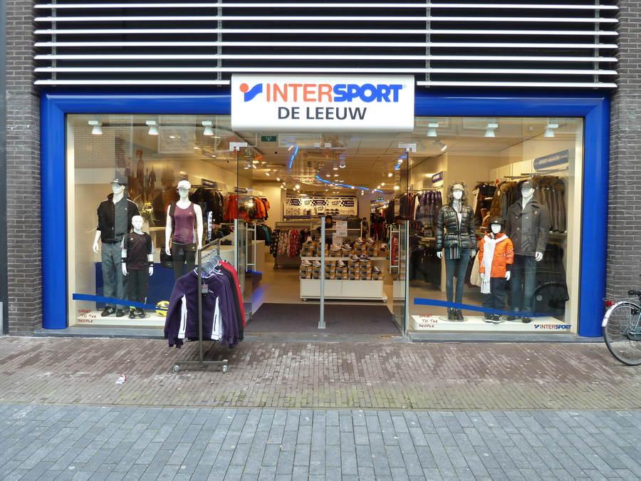 Intersport de Leeuw winkel Heerenveen