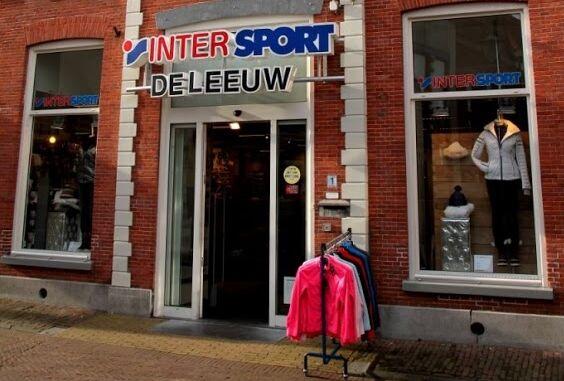 Intersport de Leeuw winkel Sneek