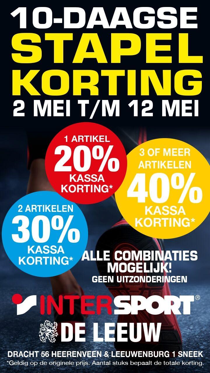 Stapelkorting Sale Intersport Heerenveen
